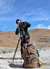 Big Size canvas camera backpack outdoor backpack camera bag for DSLR EVIL 03-038