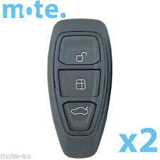 2 x Ford Mondeo 2009-2014 3 Button Remote Key Replacement Shell/Case/Enclosure