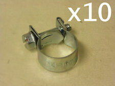 "Ideal EFI Hose Clamp 3/8"" 14-16mm BULK Pack of 10 suit Nissan Toyota Ford Skoda"