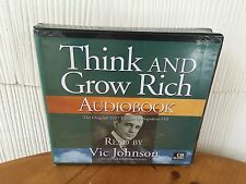 Think And Grow Rich By Vic Johnson - Get Motivated! 10 Success CDs! BRAND NEW!