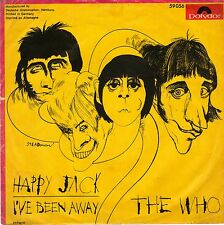 """7"""" The Who – Happy Jack / I've Been Away / Polydor 59056 // Germany 1966"""