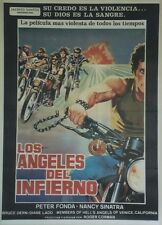"""LES ANGES SAUVAGES (THE WILD ANGELS)""Affiche entoilée Roger CORMAN, Peter FONDA"