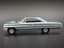 1964 Ford Galaxie 500XL Blue RARE 1/64 DIECAST COLLECTIBLE DIORAMA MODEL CAR