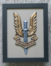 Large Scale Framed SAS BADGE - Special Air Service Plaque