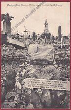 GORIZIA FOGLIANO REDIPUGLIA 10 CIMITERO MILITARE III ARMATA Cartolina viagg 1931