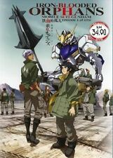 Mobile Suit Gundam Iron-Blooded Orphans (Vol.1-25 end) with English subtitles