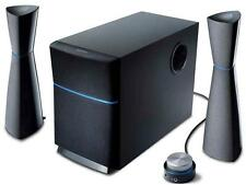 Edifier 2.1 Multimedia Speakers System With Subwoofer In Black M3200 New