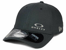 Oakley Men's M/L New Era 39Thirty Diamond Stretch Fit Hat Cap - Graphite