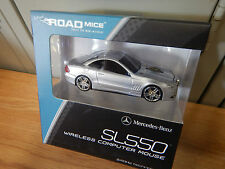 New Road Mouse Gray Mercedes-Benz SL550 Wireless Computer Mouse