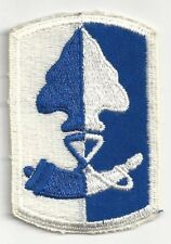 1980's US Army 187th Infantry Brigade Uniform Patch