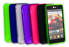 6 Colour Premium Jelly Case Cover for LG Optimus F5 / P875 + Screen Guard