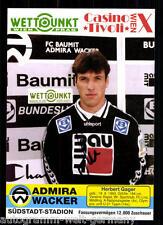 Herbert Gager Admira Wacker Wien 1994-95 TOP +91761