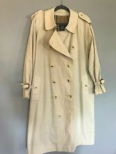 BURBERRY Classic TRENCH Coat Vintage Mid Length Men's 40 S
