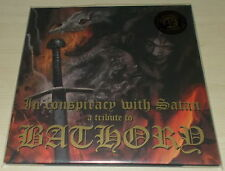 IN CONSPIRACY WITH SATAN-A TRIBUTE TO BATHORY-2016 2xLP CLEAR VINYL-LIMITED-NEW