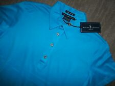 Polo RALPH LAUREN Golf Logo Pony Classic Fit POLO SHIRT womens SZ SMALL NEW wTAG