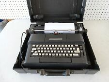 Olivetti Lexikon 83 D.L. electric typewriter Great Britain made w/ case