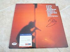 U2 Bono Live Under A Blood Red SkySigned Autographed LP Album PSA Certified