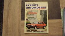 L'officiel des experts n°1 - Février 1987 - Peugeot 309 / VW Golf / Renault 18