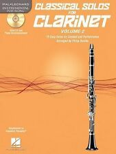 Classical Solos for Clarinet, Vol. 2 : 15 Easy Solos for Contest and...