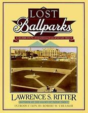 Lost Ballparks: A Celebration of Baseball's Legendary Fields-ExLibrary