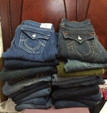 Lot of 20 Pairs of True Religion Jeans SALE   MSRP $4,500-$9,000