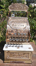 RARE MODEL 5 1/2 NCR CASH REGISTER COCA COLA MOTIF PROFESSIONALLY RESTORED