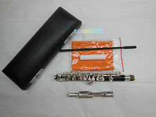 Piccolo silver plating composite wood pipe body C tone