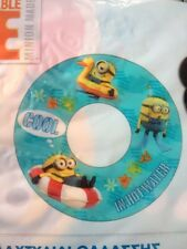 Despicable Me Rubber Ring Swimming Arm Bands Disney Store Minions DVD Film New