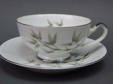 Vintage Empress China Bamboo Garden # 1552 Coffee Cup and Saucer Japan Asian
