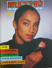 MUCCHIO 96 1986 Sade Robyn Hitchcock Long Ryders Jesus Mary Chain Joni Mitchell