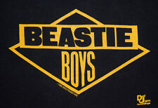 1986 Beastie Boys GET OFF MY DICK run dmc rap tour T-Shirt vtg 80s hip-hop M/L