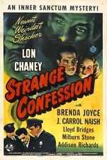 Étrange confession Poster 01 A4 10x8 photo print