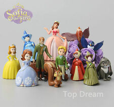 NEW 12pcs Sofia the First Princess Figurines Sophia Cake Topper Figures Gift