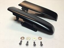 Fender-Saddlebag Filler Panels Black for 2014 / 2016 Harley Touring Baggers