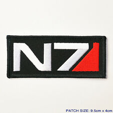"MASS EFFECT ""N7"" Systems Alliance Military Logo Patch, Special Forces Level 7"