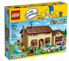 NEW~LEGO Simpsons 71006 The Simpsons House~BART~HOMER~MARGE~LISA~MAGGIE!