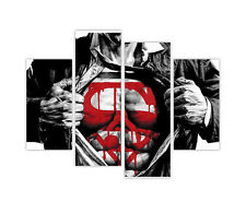 "EXTRA LARGE CANVAS PRINTS DARK SUPERMAN WALL ART 35""(90cm) XXL PICTURES PHOTOS"