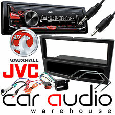 Vauxhall Corsa D 2006 On JVC Car Stereo Radio Mechless MP3 AUX Player Kit Black