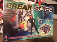New & Sealed Break the Safe Mattel Family Board Game Battery Operated Spy Agent