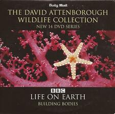 David Attenborough - LIFE ON EARTH - BUILDING BODIES - Natural World DVD