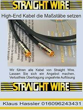 Straight Wire Symphony II 1m Neu NF Cinch-Kabel