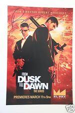 Robert Rodriguez 20x30cm From Dusk Till Dawn + Autogramm /Autograph in Person