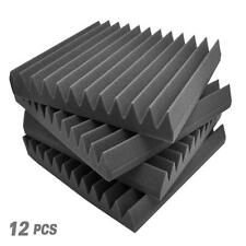 "New PSI1612 Studio Soundproofing Panel Kit, 12'' x 12'' x 1"" Squares, 12 Pieces"