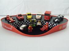 New Lego Shell Ferrari Garage Display Ferrari 250 GT Berlinetta 450 Italia F1