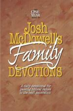 The One Year Book of Josh McDowell's Family Devotions: A Daily Devotional for P