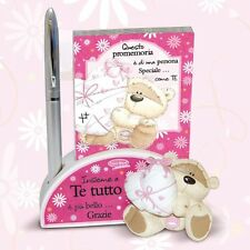 FIZZY MOON NotePad in Resina Bloc notes + Penna SPECIALE New 2014 5508