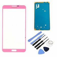 Pink Replacement LCD Screen Glass Lens For All Samsung Galaxy Note 3 III Phone