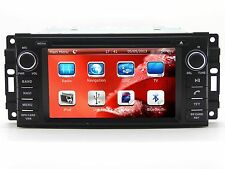 Car Stereo DVD Player GPS Navigation Radio Touch Screen For Dodge Grand Caravan