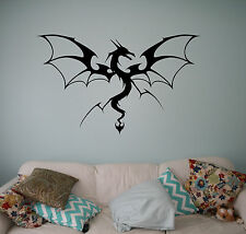 Dragon Wall Vinyl Decal Monster Vinyl Sticker Medieval Home Bedroom Interior 9