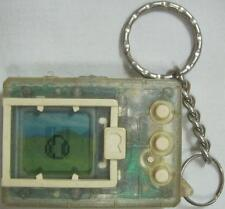 Bandai Digimon Tamagotchi Monster Transparent White Buttons 1997